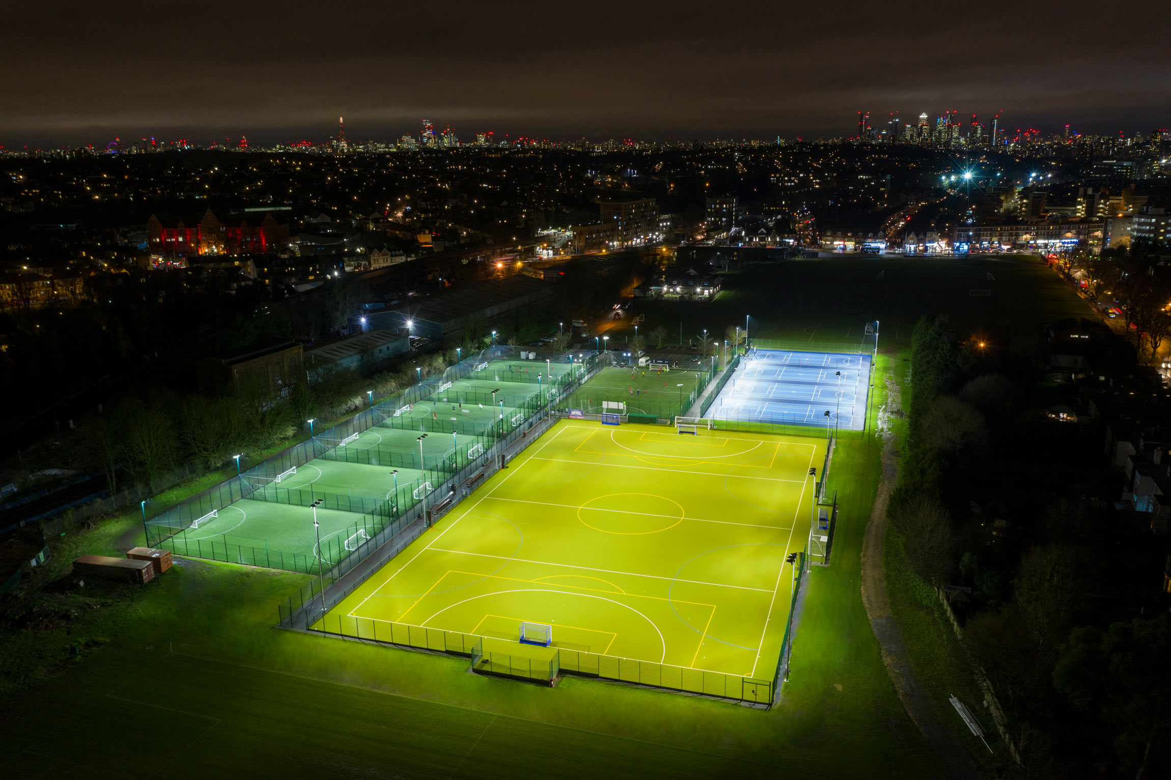 St Dunstan's Sports Facilities Open